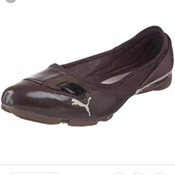 PUMA Saba Patent Womens Ballerina Flats Shoes. M 5bb817d39539f7086b214ea1 ed803aff8a3b